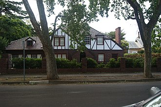 Unley Park, South Australia - Residential home in the Tudorbethan architectural style