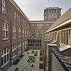 tuin kloosterkapel, binnentuin van bovenaf gezien - nijmegen - 20337585 - rce