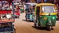 Tuk Tuk on streets of Delhi, India (26661971496).jpg