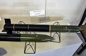 9M117 Bastion - A 9M117 missile