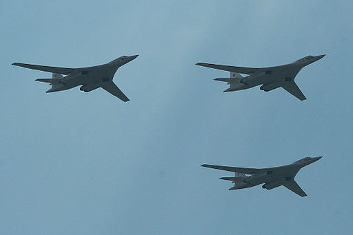 Tupolev Tu-160 Blackjack formation - Zhukovsky 2012 (8694274276)