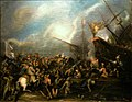 Turgut Reis landing on Malta by Eugenio Caxes 1575 1634.jpg