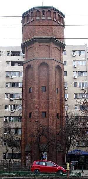 Drumul Taberei - Water tower