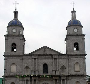 Tuxpan's main Catholic Church