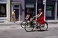 Two cyclists in Charleston 2009.jpg
