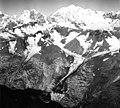 Tyeen Glacier, hanging glaciers and mountain glacier, August 25, 1968 (GLACIERS 5939).jpg