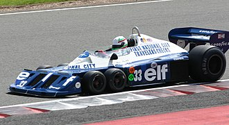 Tyrrell P34 - Image: Tyrrell P34 2008 Silverstone Classic