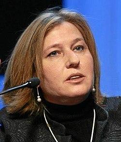 Parteivorsitzende Tzipi Livni