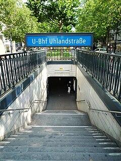 Uhlandstraße (Berlin U-Bahn) Station of the Berlin U-Bahn