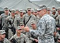 U.S. Army Lt. Gen. Ken Keen, commanding general of Joint Task Force-Haiti, addresses members of the 82nd Airborne Division out of Fort Bragg, N.C., March 6, 2010, in Port-au-Prince, Haiti 100306-N-HX866-003.jpg