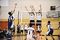 UFV men's volleyball vs Cap Nov 7 2014 42 (15759037861).jpg
