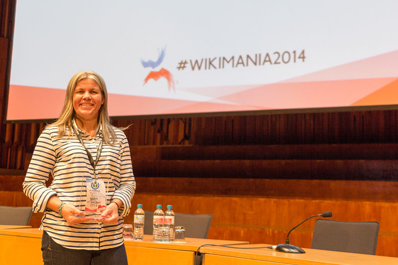 File:UK Wikimedian of the Year awards 2014 (02).jpg