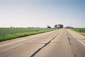 U.S. Route 14 - U.S. 14 at the Illinois-Wisconsin border.