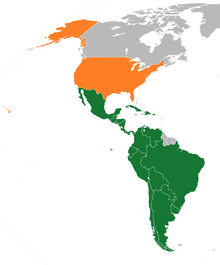 Latin America–United States relations - Wikipedia on landforms map fill in, canadian provinces map fill in, asia map fill in, caribbean map fill in, africa map fill in, china map fill in, usa map fill in, canada map fill in, europe map fill in,