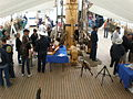 USCGC Eagle main deck during Festival of Sail 2008 SF 2.JPG