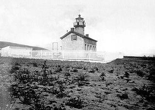 Santa Barbara Light lighthouse in California, United States