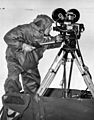 USN photographer taking movie in Antarctica c1947.jpg