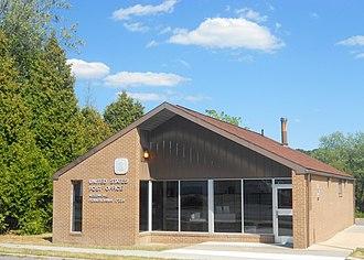 Belfast Township, Fulton County, Pennsylvania - Image: USPO Needmore PA 17238