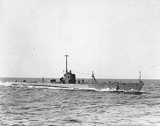 """USS <i>Dolphin</i> (SS-169) A """"V-boat"""" class submarine"""