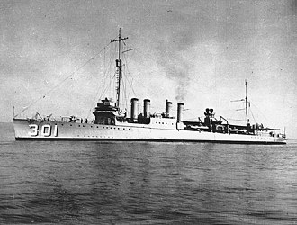 USS Somers (DD-301) - Image: USS Somers (DD 301) during the 1920s (NH 98020)