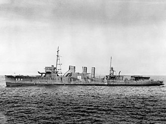 USS Stewart (DD-224) - DD-224 after recapture from the Japanese Navy and recommissioning in the USN