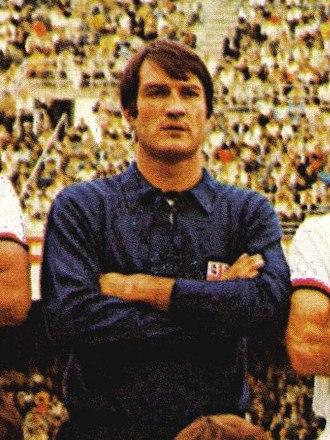 Enrico Albertosi - Albertosi at Cagliari in 1969.
