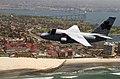 US Navy 040501-N-8796S-201 A S-3B Viking aircraft assigned to the Shamrocks of Sea Control Squadron Four One (VS-41) flies near the Coronado Bridge.jpg