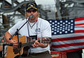 US Navy 050512-N-0962S-108 Two-time Academy of Country Music Entertainer of the Year, Toby Keith, performs for Sailors aboard USS Austin (LPH 4).jpg