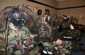 US Navy 081209-N-8102P-025 Members of Naval Mobile Construction Battalion (NMCB) 24 are fitted for gas masks at the Naval Mobile Processing Site.jpg