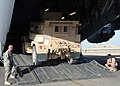 US Navy 090104-N-1120L-035 Air Force airmen load a Navy Seabee mine resistant, ambush protected vehicle into an Air Force C-17 for transportation.jpg
