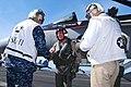 US Navy 091126-N-9760Z-148 Gen. David H. Petraeus visits USS Nimitz on Thanksgiving Day, 2009.jpg