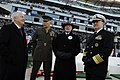US Navy 091212-N-5549O-132 Senior Department of Defense officials speak before the start of the 110th Army-Navy college football game at Lincoln Financial Field in Philadelphia.jpg
