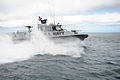 US Navy 110605-N-PM781-066 Service members assigned to Maritime Expeditionary Security Squadron (MSRON) 1 perform patrol craft exercises off San Cl.jpg