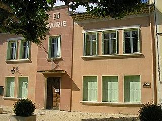 Uchaux Commune in Provence-Alpes-Côte dAzur, France