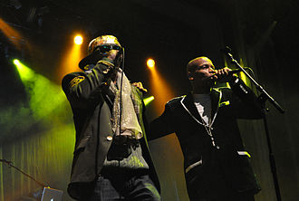 Ultramagnetic MCs - Ultramagnetic MCs (Kool Keith and Ced-Gee pictured) performing at I'll Be Your Mirror in Asbury Park, New Jersey, 2011