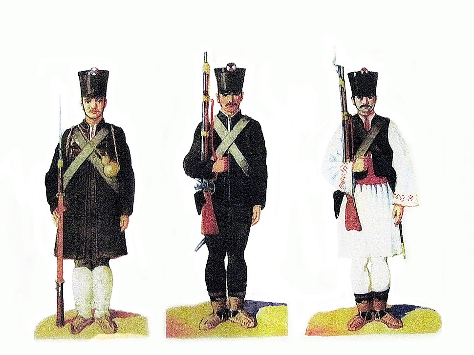 Uniforms of a Serbian soldier from First Uprising