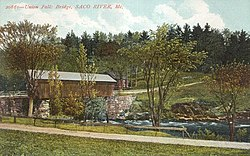 Union Falls Bridge, c. 1908