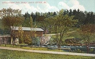 Dayton, Maine - Union Falls Bridge, c. 1908