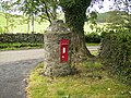 Unique postbox at Hethpool - geograph.org.uk - 570772.jpg