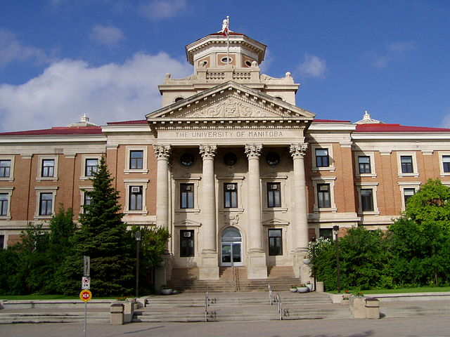 University of Manitoba by James Terenko / Wikimedia Commons / CC BY-SA 3.0