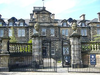 University of Edinburgh - The building that houses the university's Institute of Geography was once part of the Royal Infirmary.