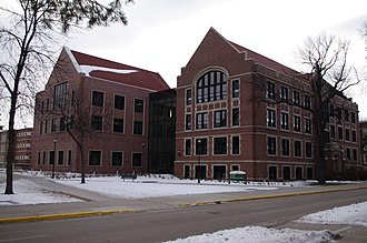 University of North Dakota School of Law - Image: University of North Dakota School of Law