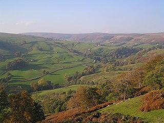 Nidderdale valley in Yorkshire, UK