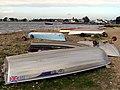 Upturned boats on Mudeford Spit - geograph.org.uk - 318709.jpg