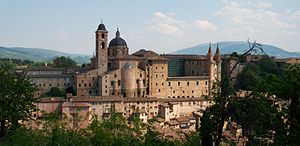 Baldassare Castiglione - The Ducal Palace at Urbino, setting of the ''Book of the Courtier''.