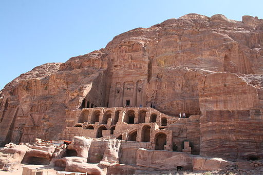 Urn Tomb, Petra, Jordan2