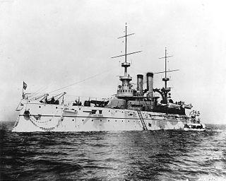 USS <i>Wisconsin</i> (BB-9) Pre-dreadnought battleship of the United States Navy