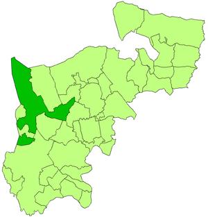 Uxbridge Rural District - Image: Uxbridge rural in mddx 1911