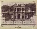 Várkert Bazár, Gloriette. A felvétel 1890 körül készült. - Budapest, Fortepan 82443.jpg