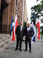 Välisminister Urmas Paet kohtus oma Poola kolleegi Radosław Sikorskiga 4. juunil Varssavis (14340287331).jpg